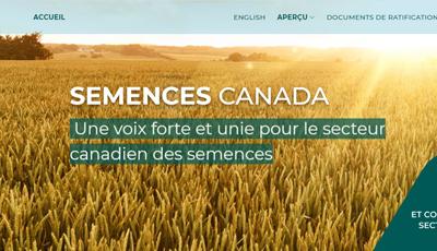 Site Web de Synergie des semences