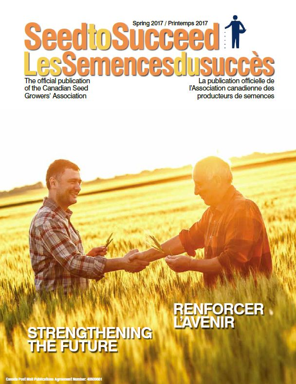 Seed crop news magazine - Seed to success spring 2017